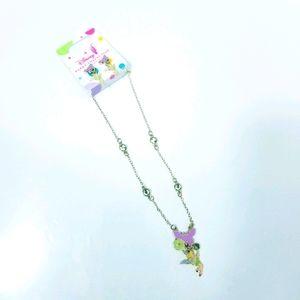 Disney Parks Exclusive Tinker Bell Necklace set